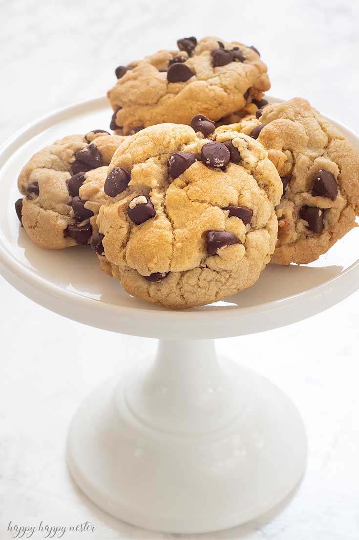 The Best Crunchy Crispy Chocolate Chip Cookie Happy Happy Nester