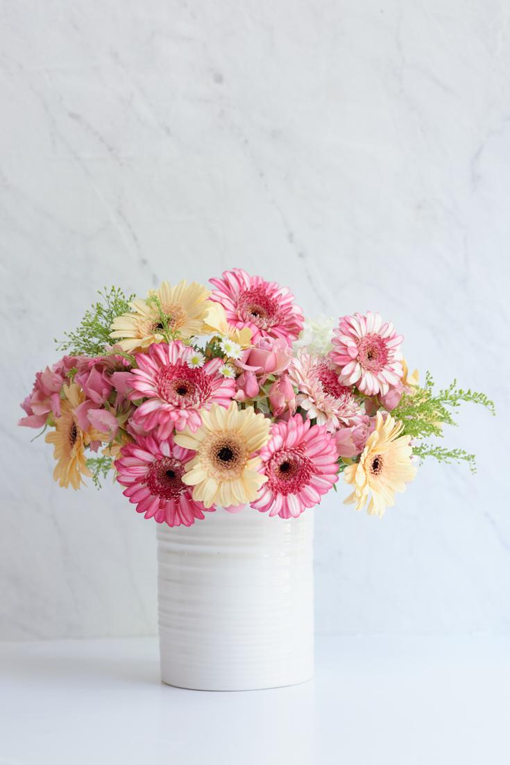 Trader Joe's Flower Arrangements DIY   Happy Happy Nester